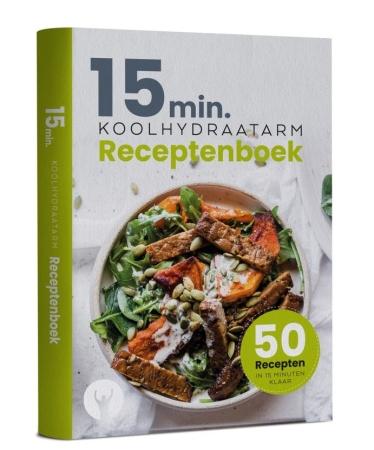 15 minuten koolhydraatarm receptenboek