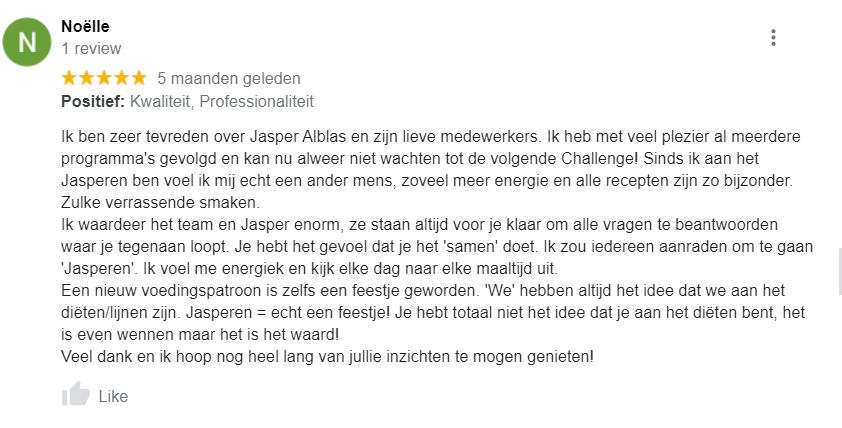 jasper alblas review en ervaringen