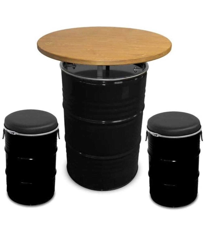 meubels van olievaten