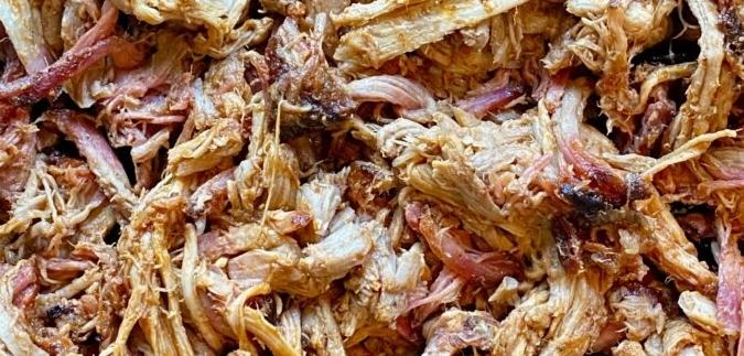 pulled porc kamado