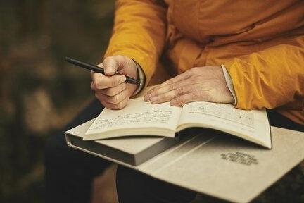 beter omgaan met stress - dagboek