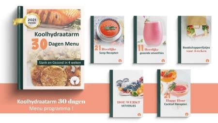 koolhydraatarm 30 dagen menu