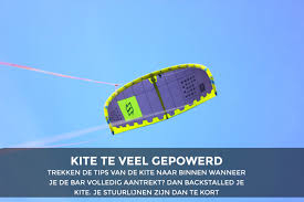 kite backstallen