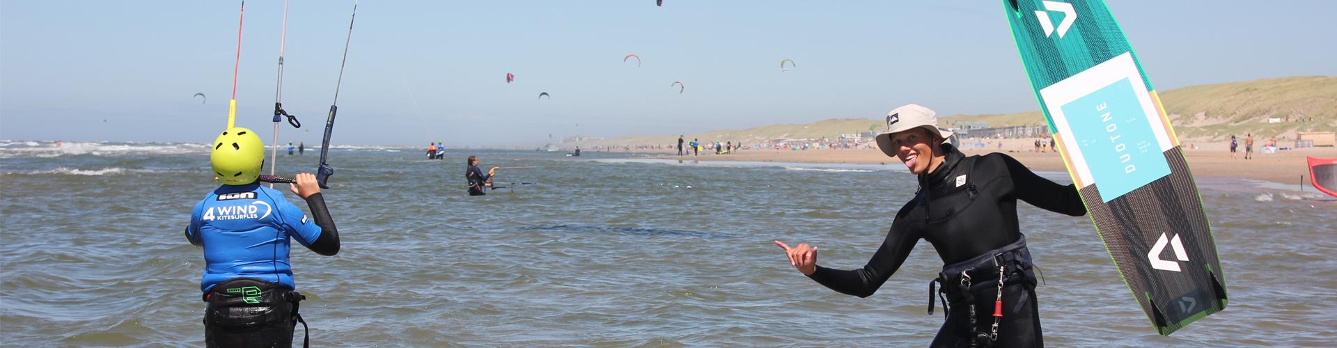 de nummer 1 kitesurfschool van nederland op de mooiste locatie leren kitesurfen