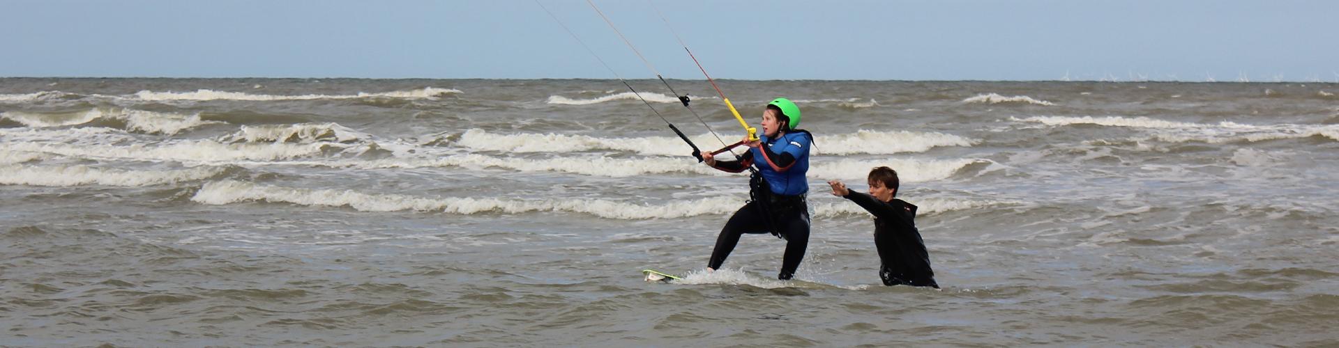 kitesurf cursus mobiel
