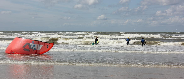 Wel wind, geen kitesurfles?!