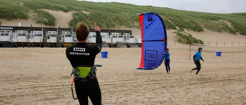 Kite afstellen bij Backstall kite