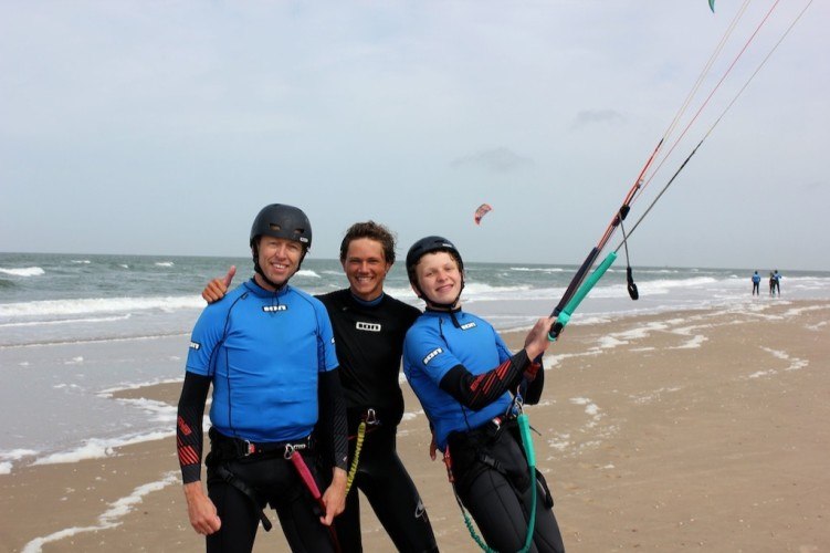 Leren kitesurfen kan iedereen
