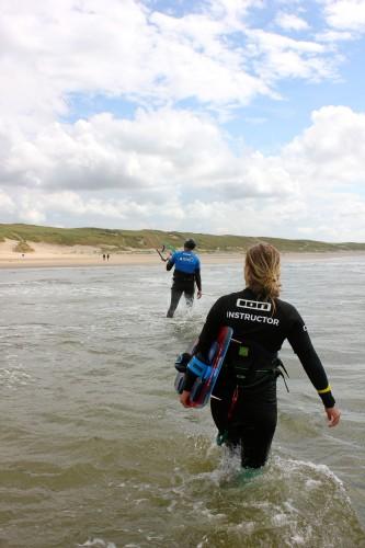 Leren kitesurfen noord holland