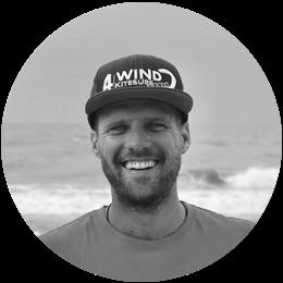 leer kitesurfen van kitesurfschool eigenaar Ronald Glasbergen