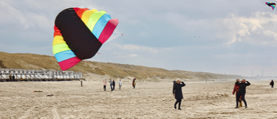 prive kitesurfles in noord holland