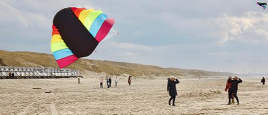 prive kitesurfles in noord holland