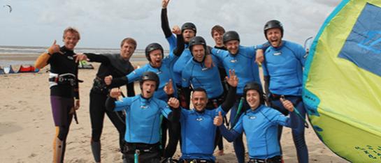 vijf daagse kitesurfles in castricum