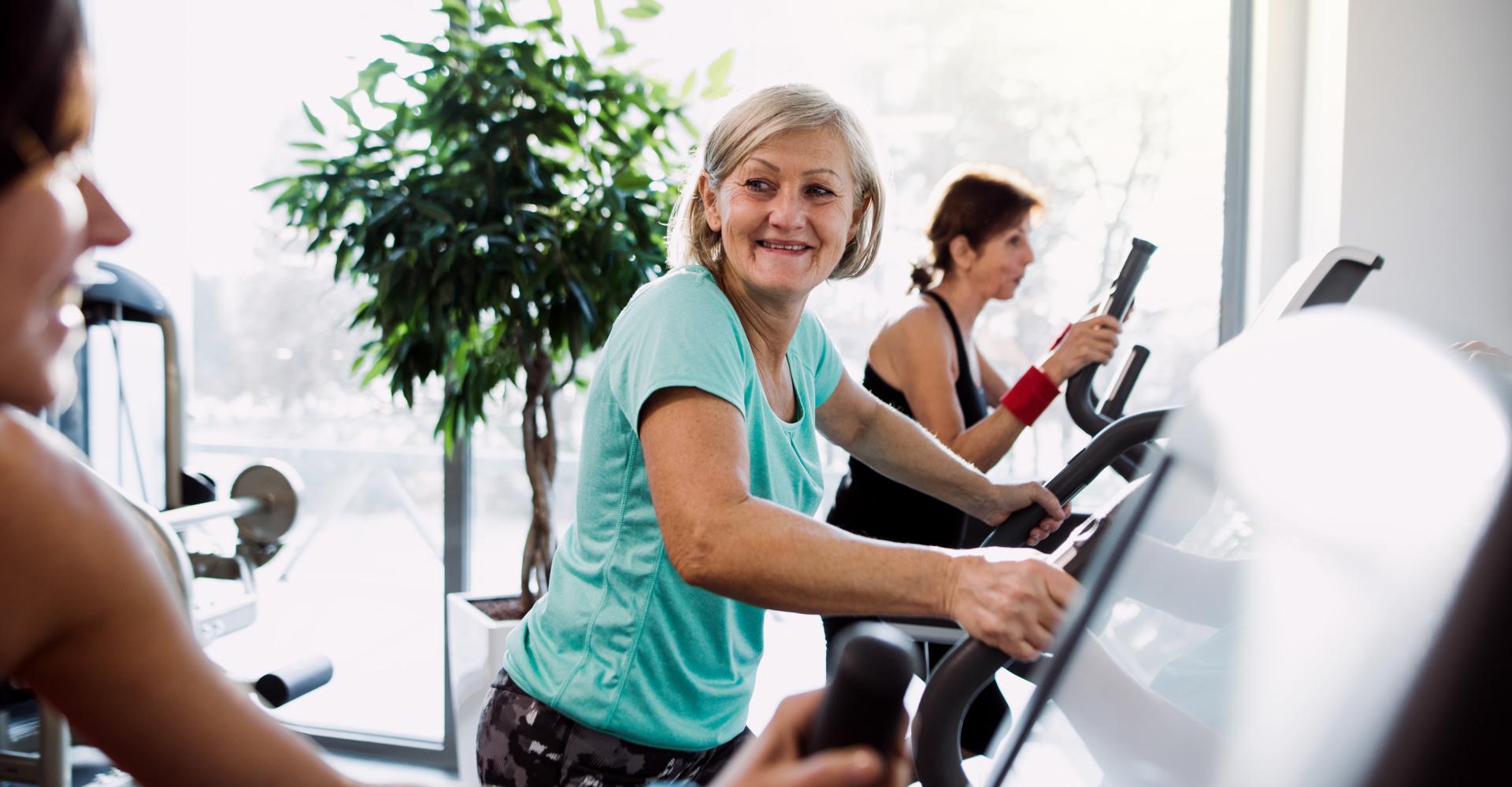 Fitness begeleiding 50 plussers