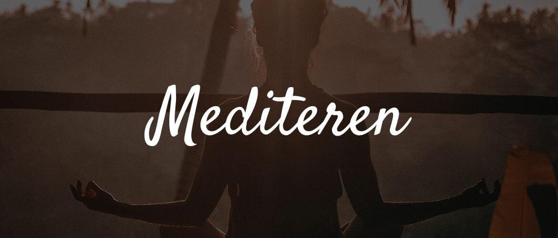 Wat is mediteren?