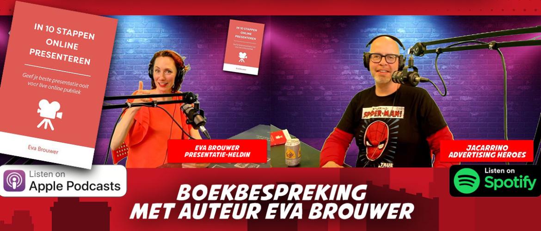 98. In 10 stappen online presenteren – met auteur Eva Brouwer
