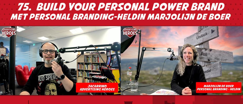 75. Build your personal brand - Marjolijn de Boer (Online training onder de loep)