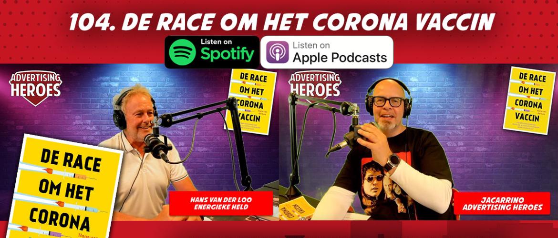 104. De race om het corona vaccin – boekbespreking met auteur Hans van der Loo