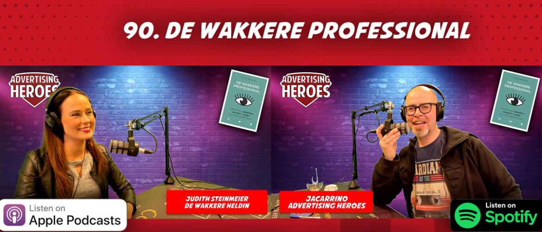 90. De Wakkere Professional – boekbespreking met Judith Steinmeier