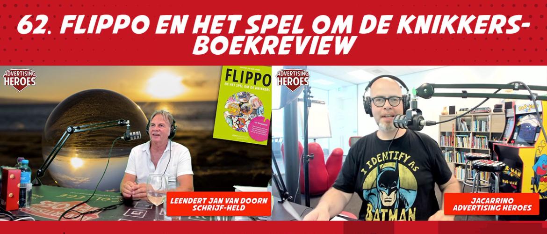 """62. """"Flippo en het spel om de knikkers""""- Boekreview met auteur Leendert Jan van Doorn"""