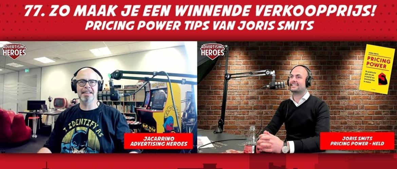 77. Zo maak je een winnende verkoopprijs! - Pricing Power Tips van Joris Smits (boekbespreking)