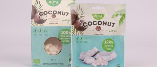 cocosnoot bio gevriesdroogd snack ontbijt