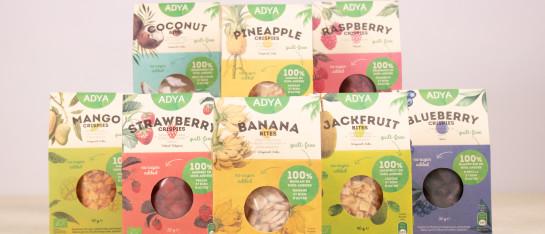 adya gevriesdroogd fruit bio ingrediënt gemakkelijk gezond