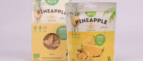 ananas bulk bio gevriesdroogd stukjes