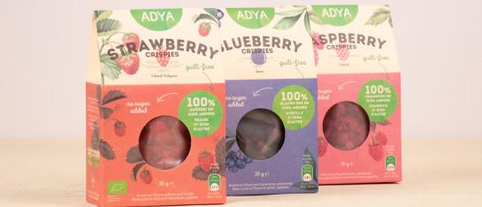 adya rood fruit gevriesdroogd ingrediënt lekker gezond gemakkelijk