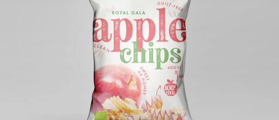 appel chips rood vezels