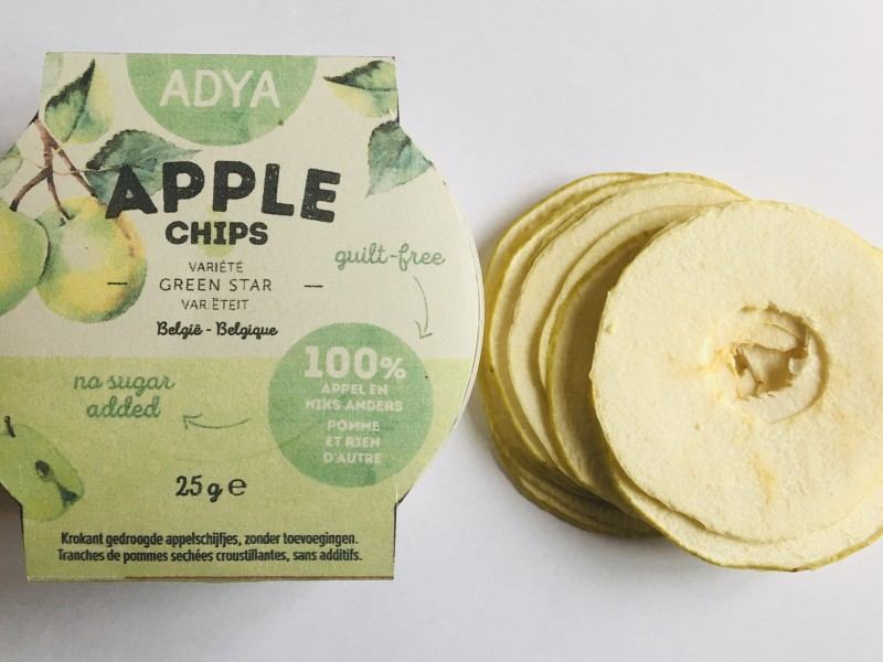 appel bio gedroogd green star belgie adya snack
