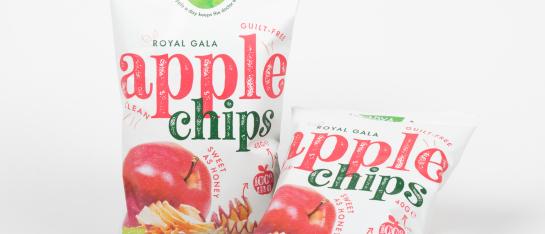 appel chips gezond snack crispy vezels