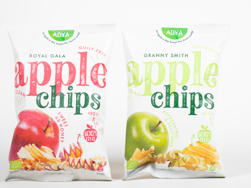 appel chips bio vezels vitamines crispy