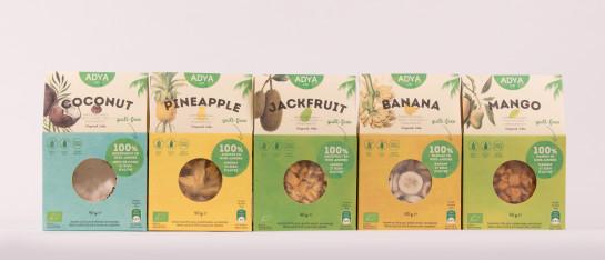 adya tropisch fruit gevriesdroogd ingrediënt gezond gemakkelijk