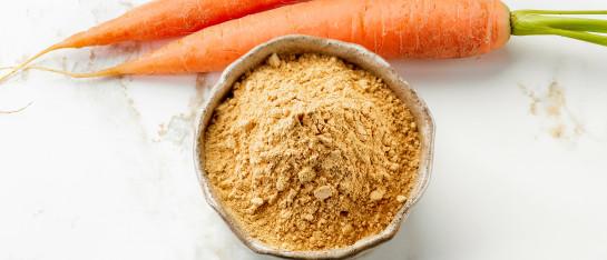wortel bio gevriesdroogd poeder