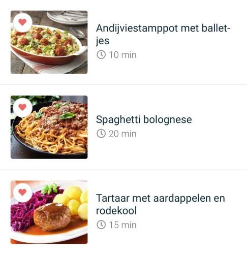 Diner voorbeelden | Fit, Food & Fun