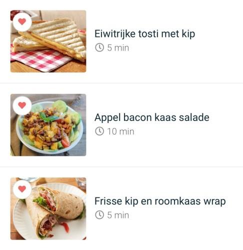 Lunch voorbeelden | Fit, Food & Fun