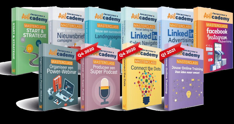 De masterclass trainingen AHcademy