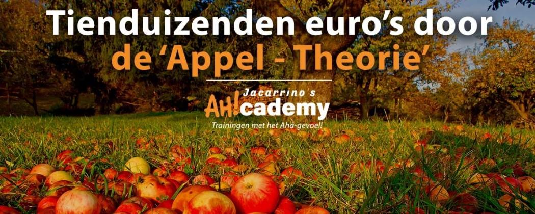 TIENDUIZENDEN EURO'S OMZET DOOR DE APPEL-THEORIE