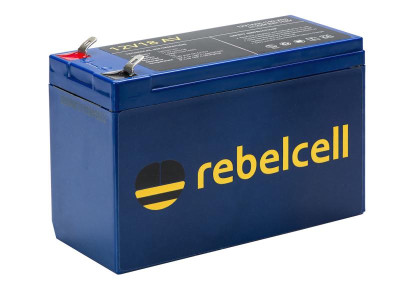 Rebelcell 12V07 lithium accu voor voerboot fishfinder