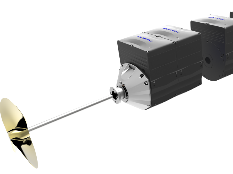 AXC modulair elektrische aandrijving Oceanvolt
