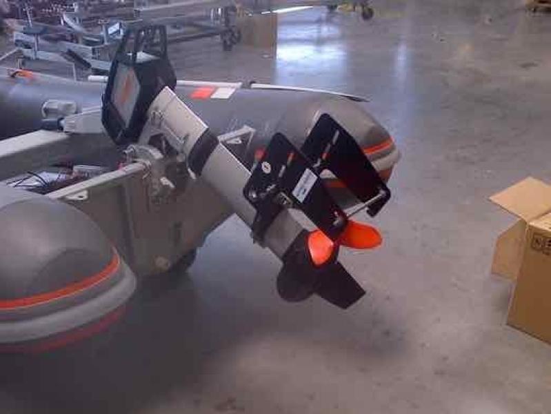 Course Keeper op elektrische buitenboord motor
