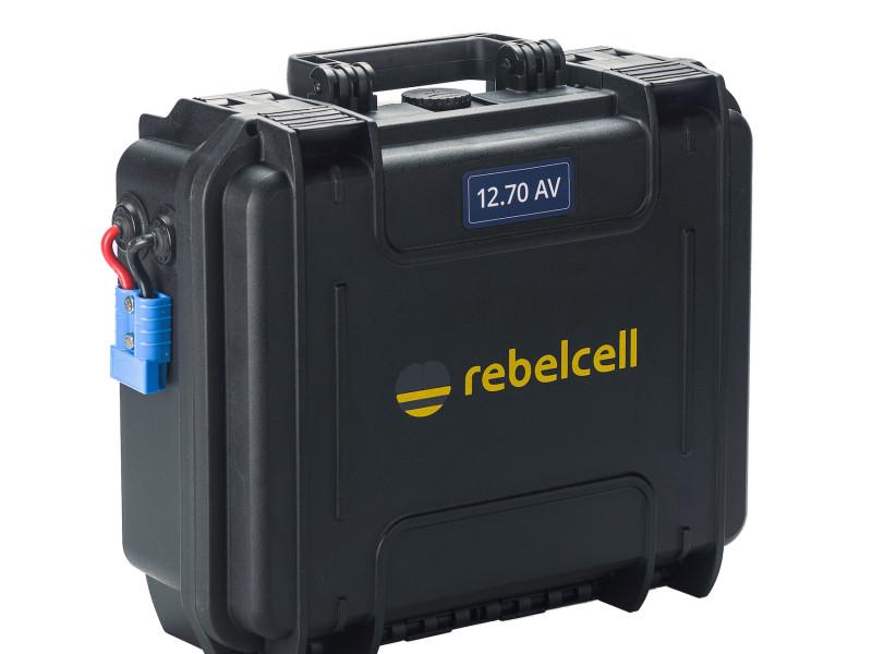 Rebelcell 12.50 AV Outdoorbox lithium accu voor buitengebruik