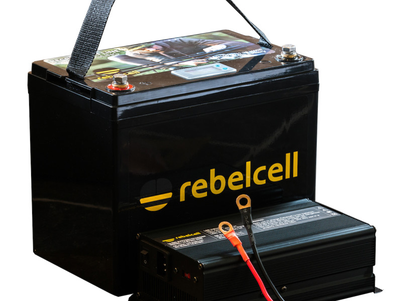 Rebelcell 12V100 lithium accu