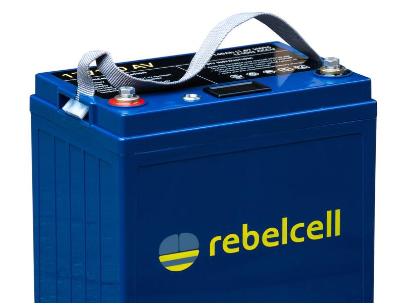 Rebelcell 12V140AV lithium accu