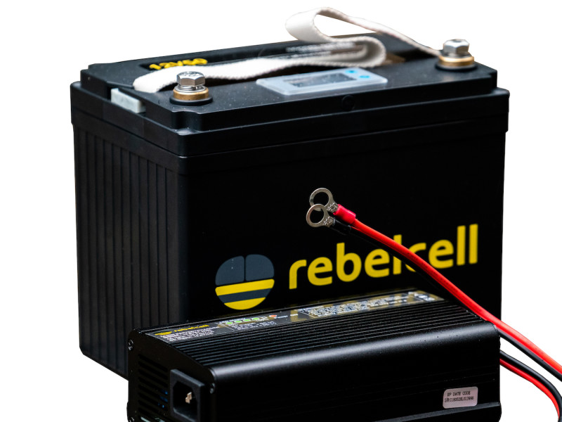 Rebelcell 12V50 lithium accu