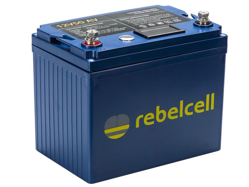Rebelcell 12V50 AV Lithium accu
