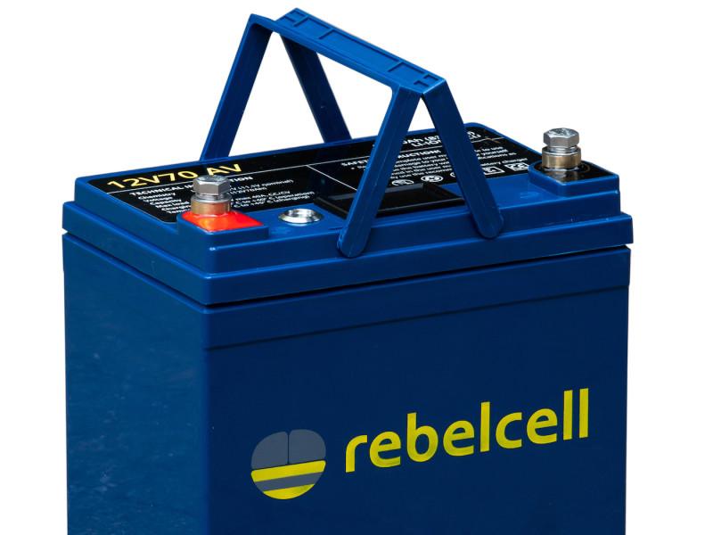 Rebelcell 12V70 AV lithium accu