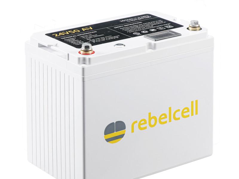 24 volt lithium accu 50ah Rebelcell lithium accu
