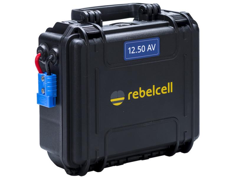 Rebelcell Outdoorbox 12.50 AV Lithium accu voor outdoor gebruikt